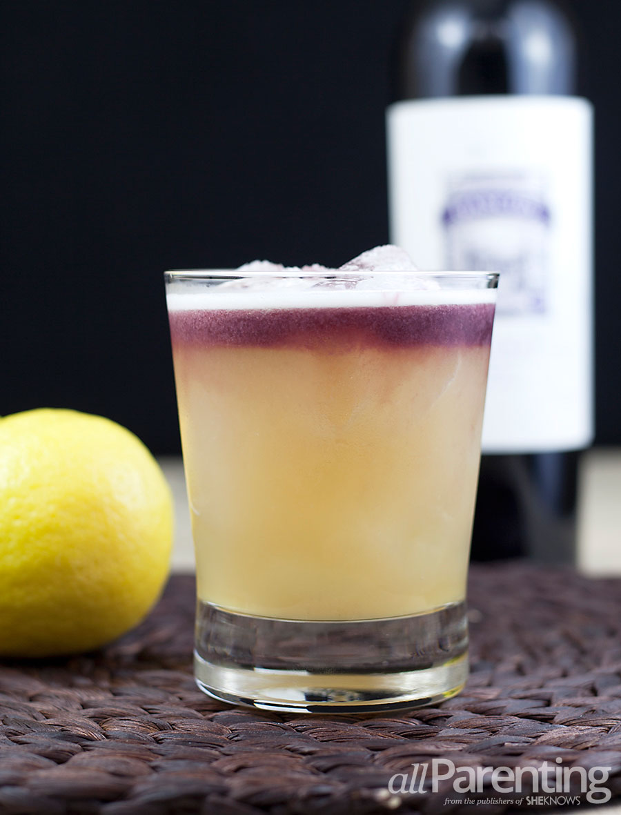 allParenting New York sour cocktail