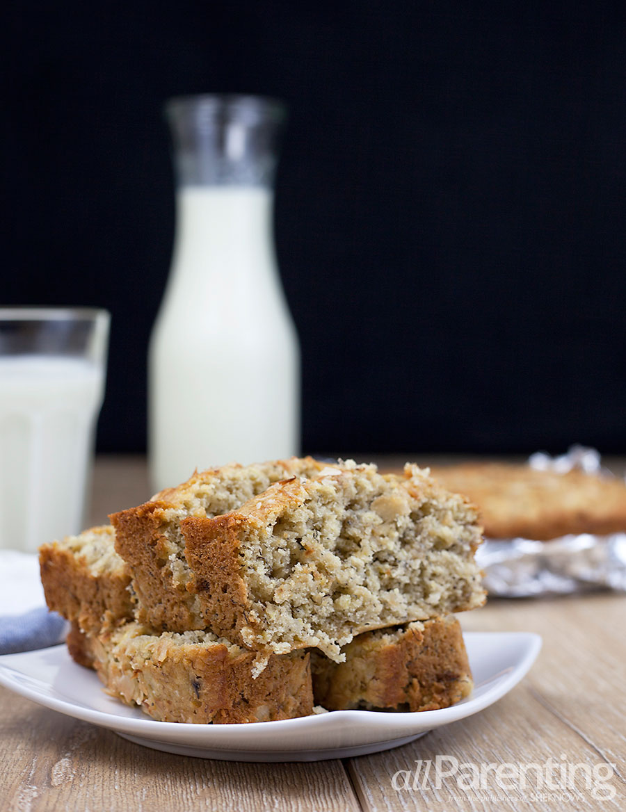 allParenting Pineapple banana bread