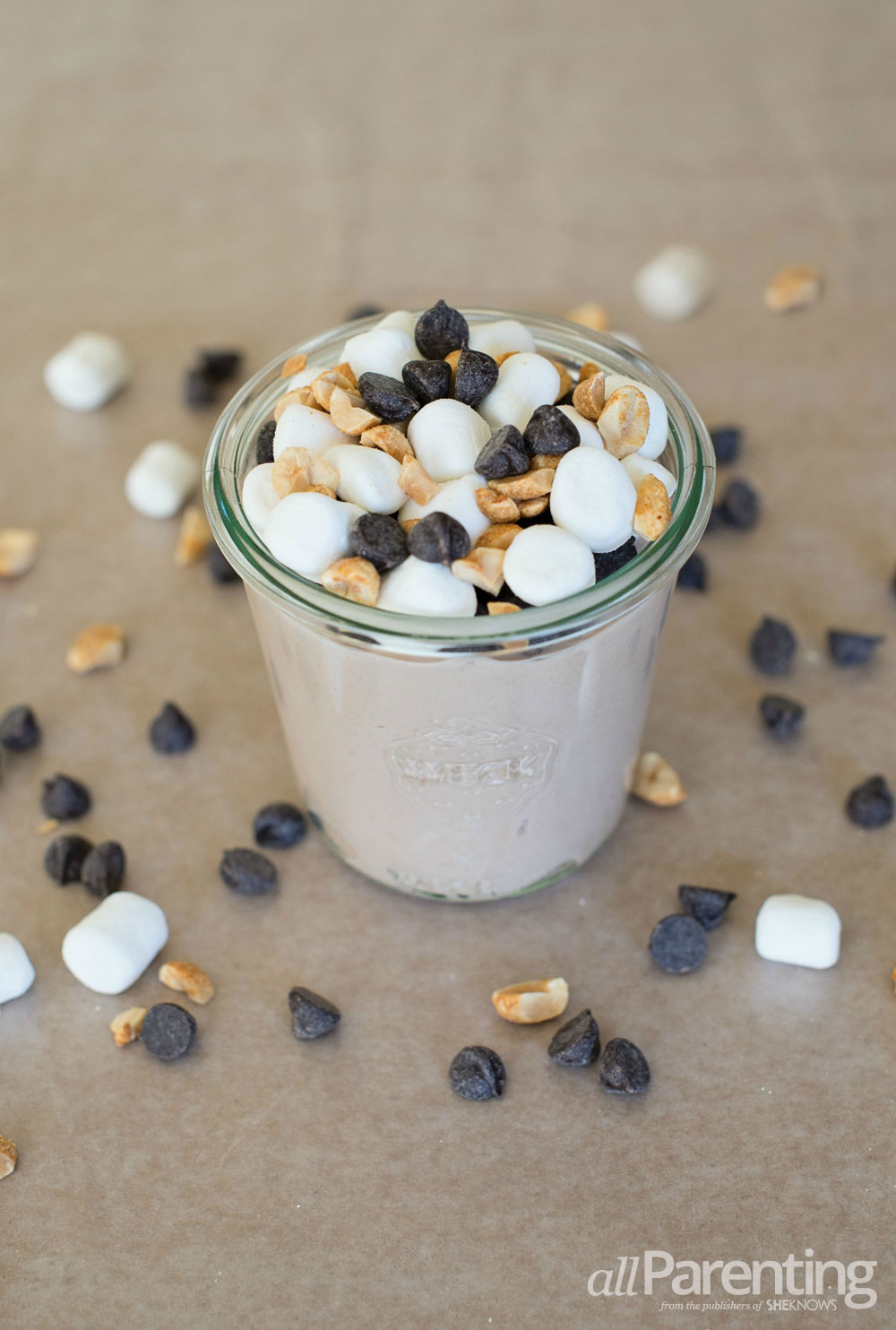 allParenting Nutella rocky road parfaits