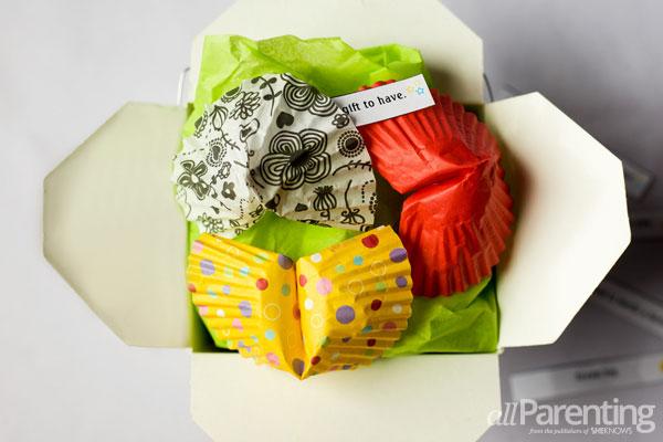 allParenting Cupcake liner fortune cookies