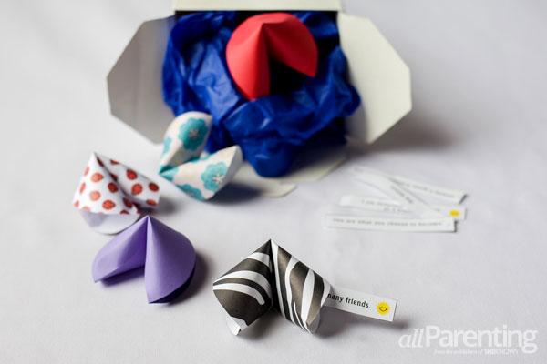 allParenting Paper fortune cookies