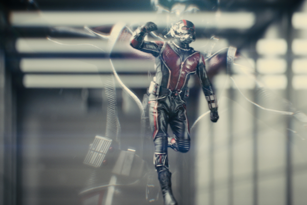 Paul Rudd as Ant-Man: The most serious we've ever seen the comedian