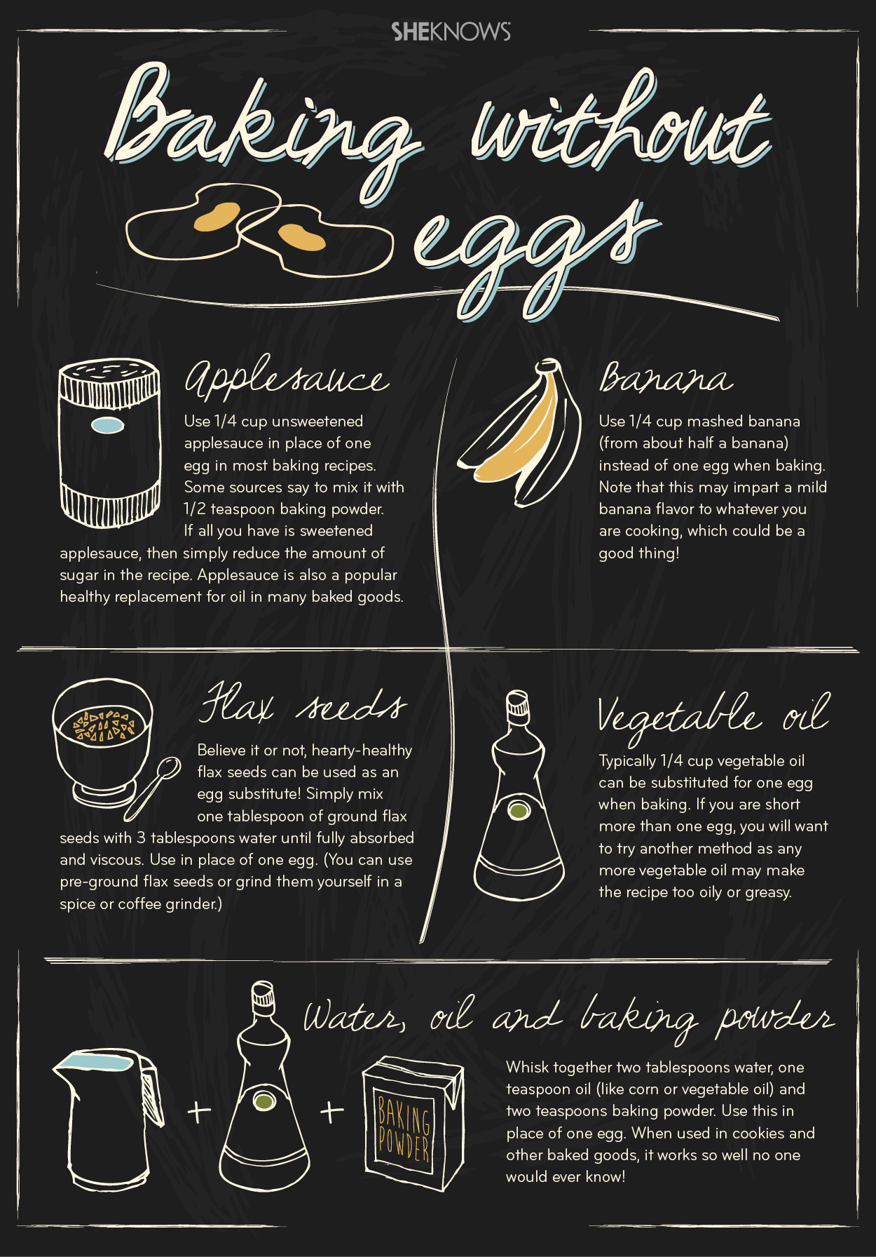 Egg Substitutes In Box Cake Mix