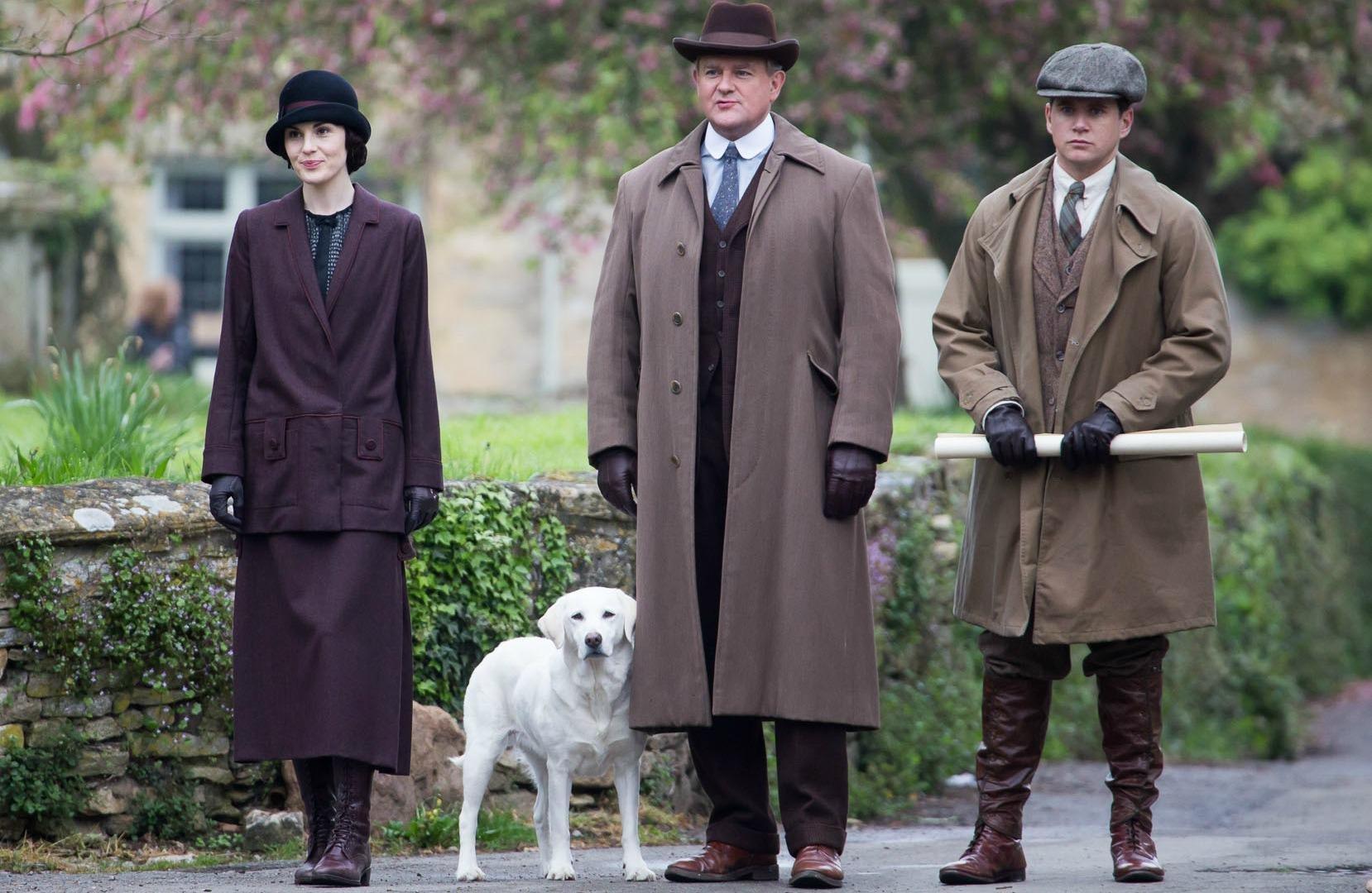 Spot the historical error in Downton Abbey's new promo photo