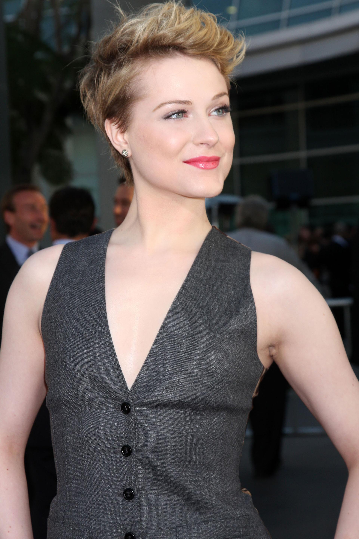 Evan Rachel Wood's pixie cut