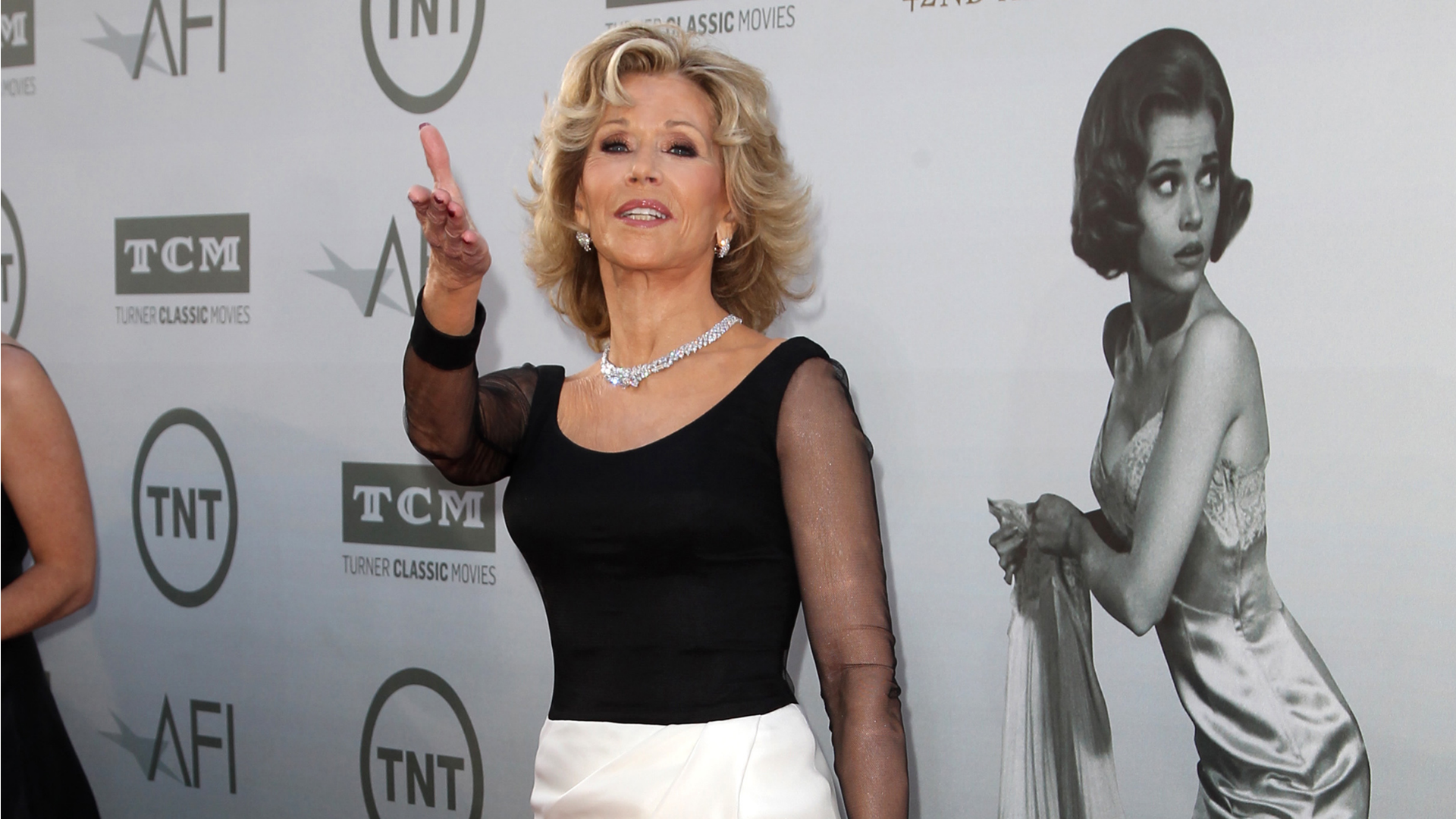 Jane Fonda has a chair with Ryan Gosling's face on it, but why?