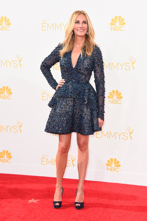Julia Roberts in Elie Saab at the Emmys