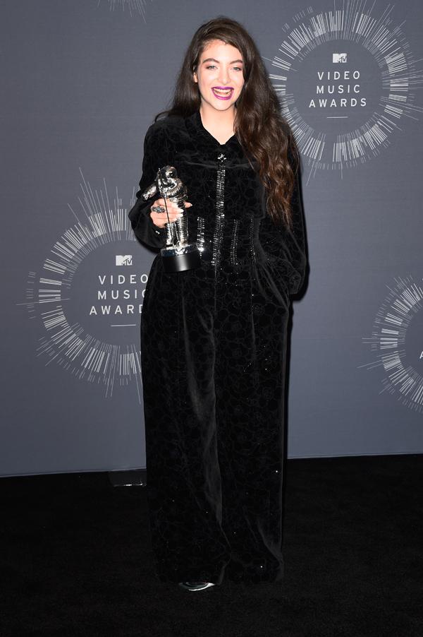 Lorde at the 2014 VMAs