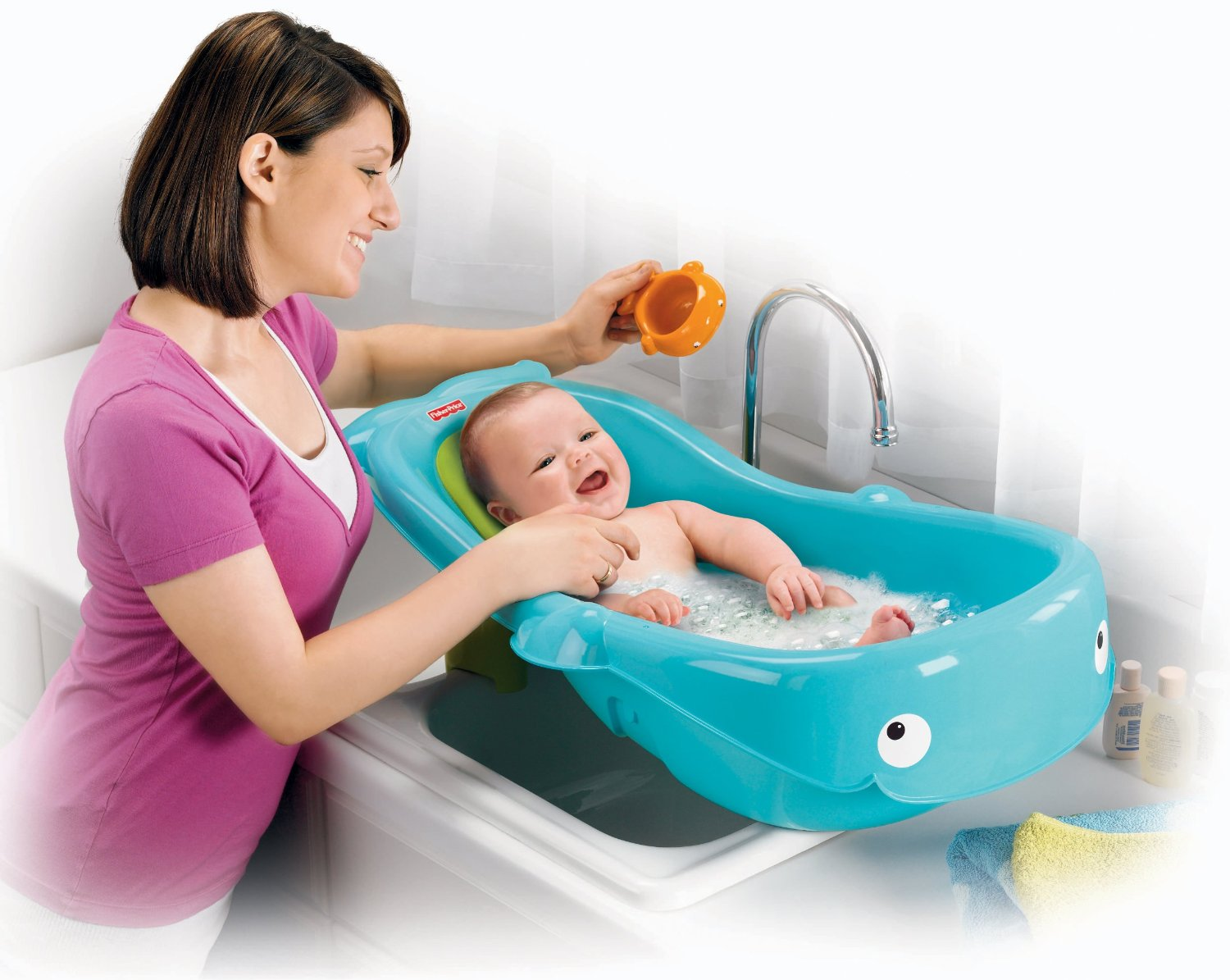 Bon Fisher Price Whale Bathtub