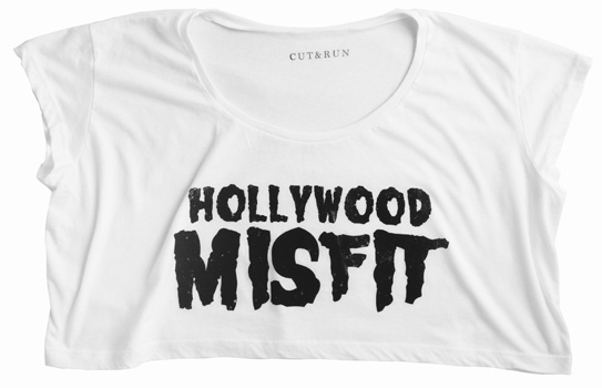 Hollywood Misfit Crop ($25)