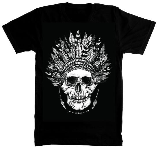 Skull Logo Tee($30)
