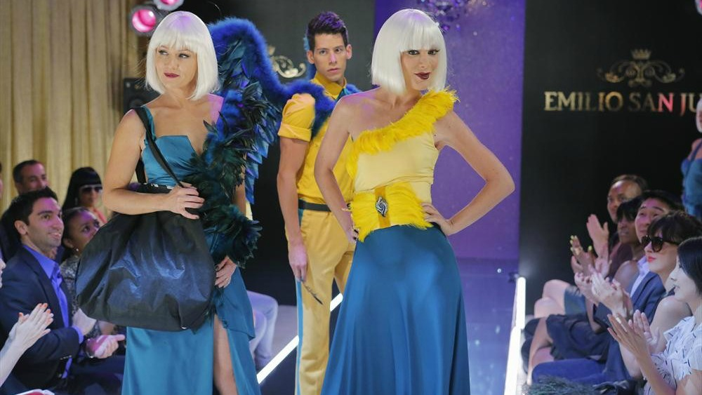 The ladies walk the runway for RuPaul in the next episode of Mystery Girls