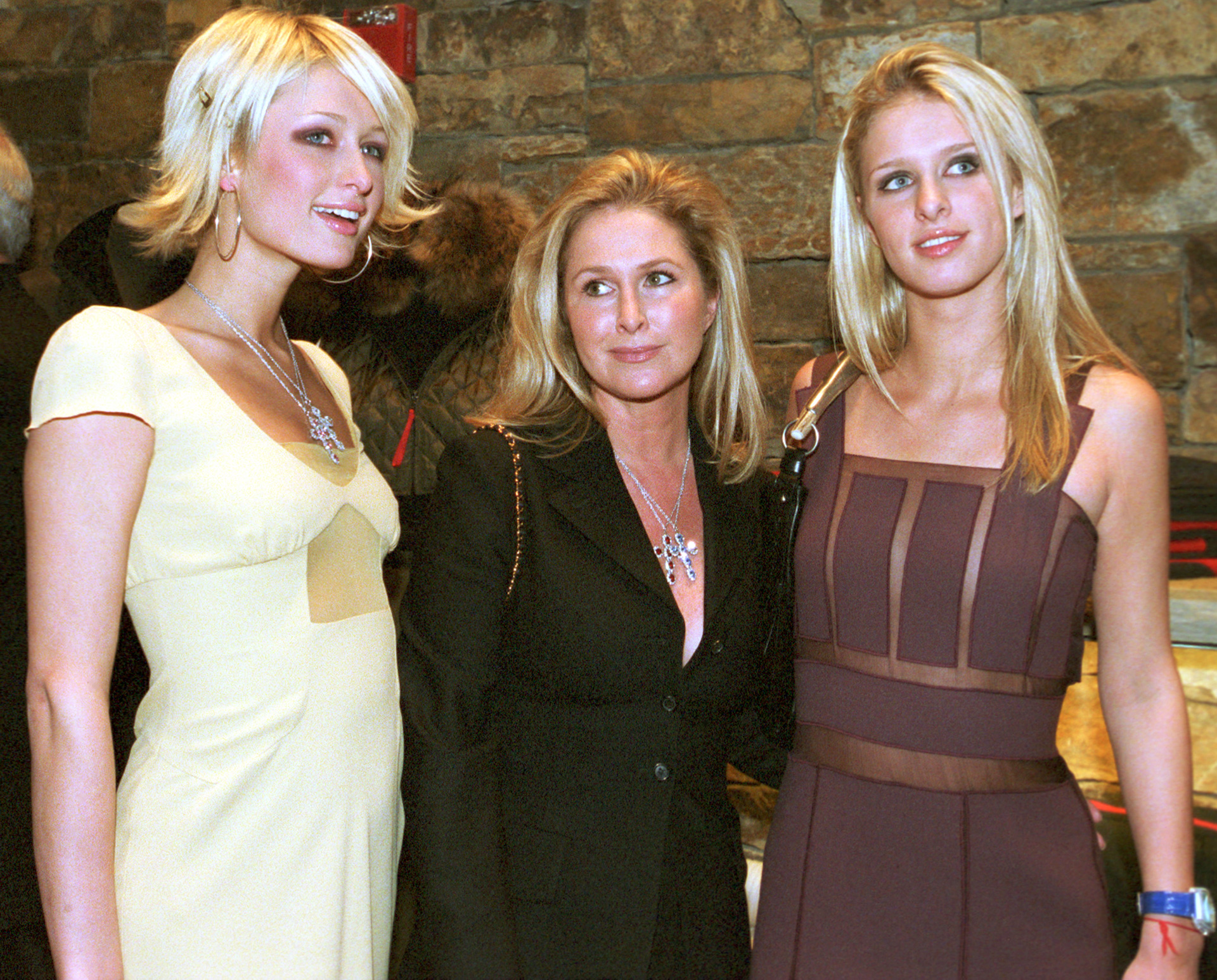 Paris, Kathy and Nicky Hilton