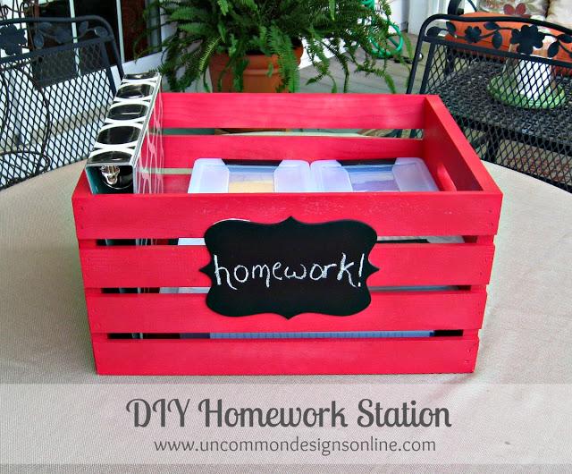 Awesome homework station 9