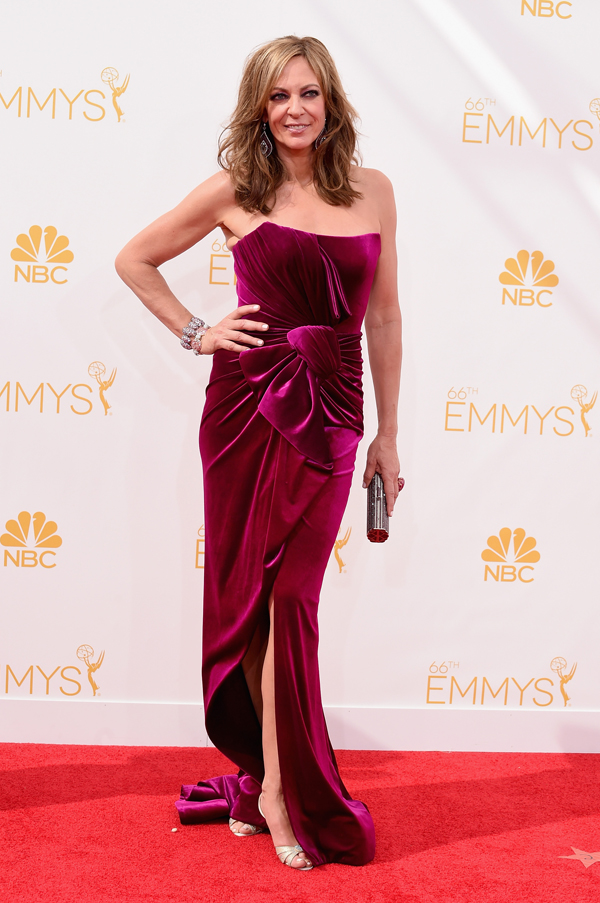 ailson janney at the 2014 Emmys