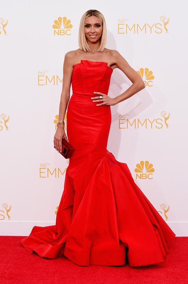 Giuliana Rancic at the 2014 Emmys
