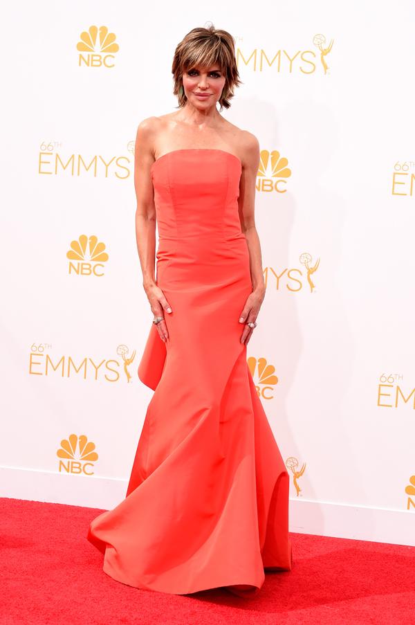 Lisa Rinna at the 2014 Emmys