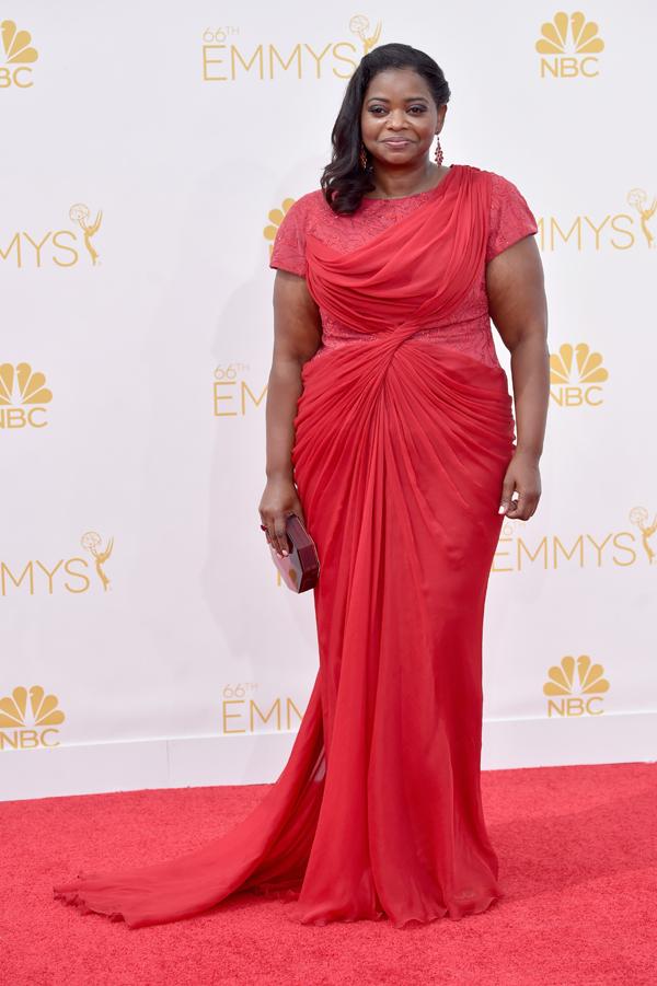 Octavia Spencer at the 2014 Emmys