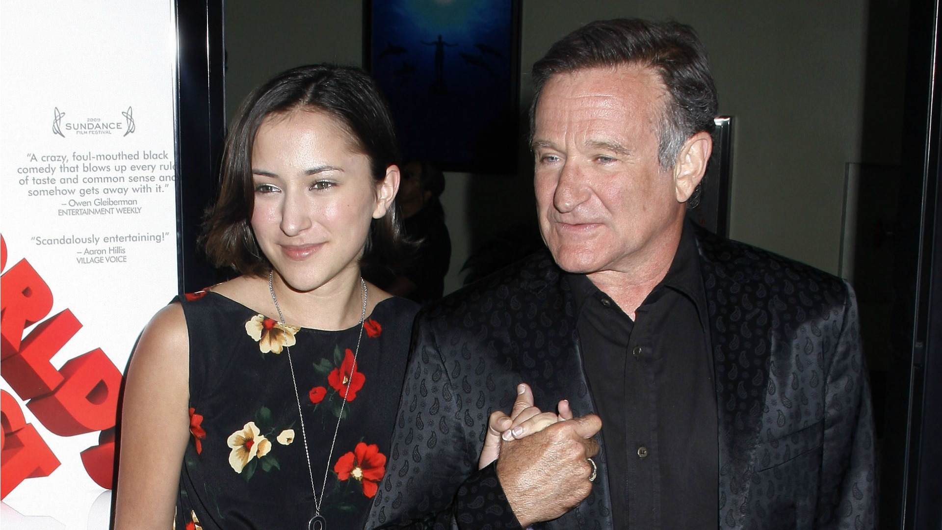 Tributes pour in for Robin Williams, but none as touching as the one from his daughter