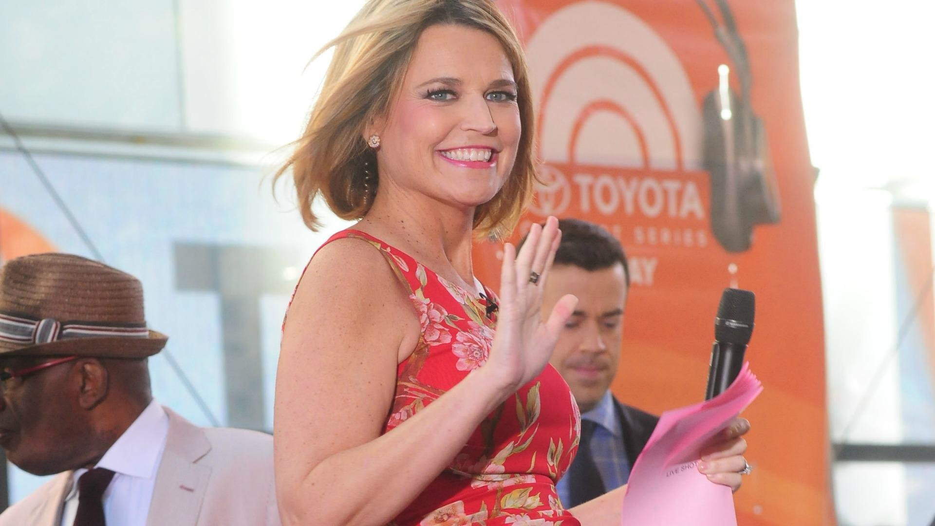 Savannah Guthrie Wedding Date