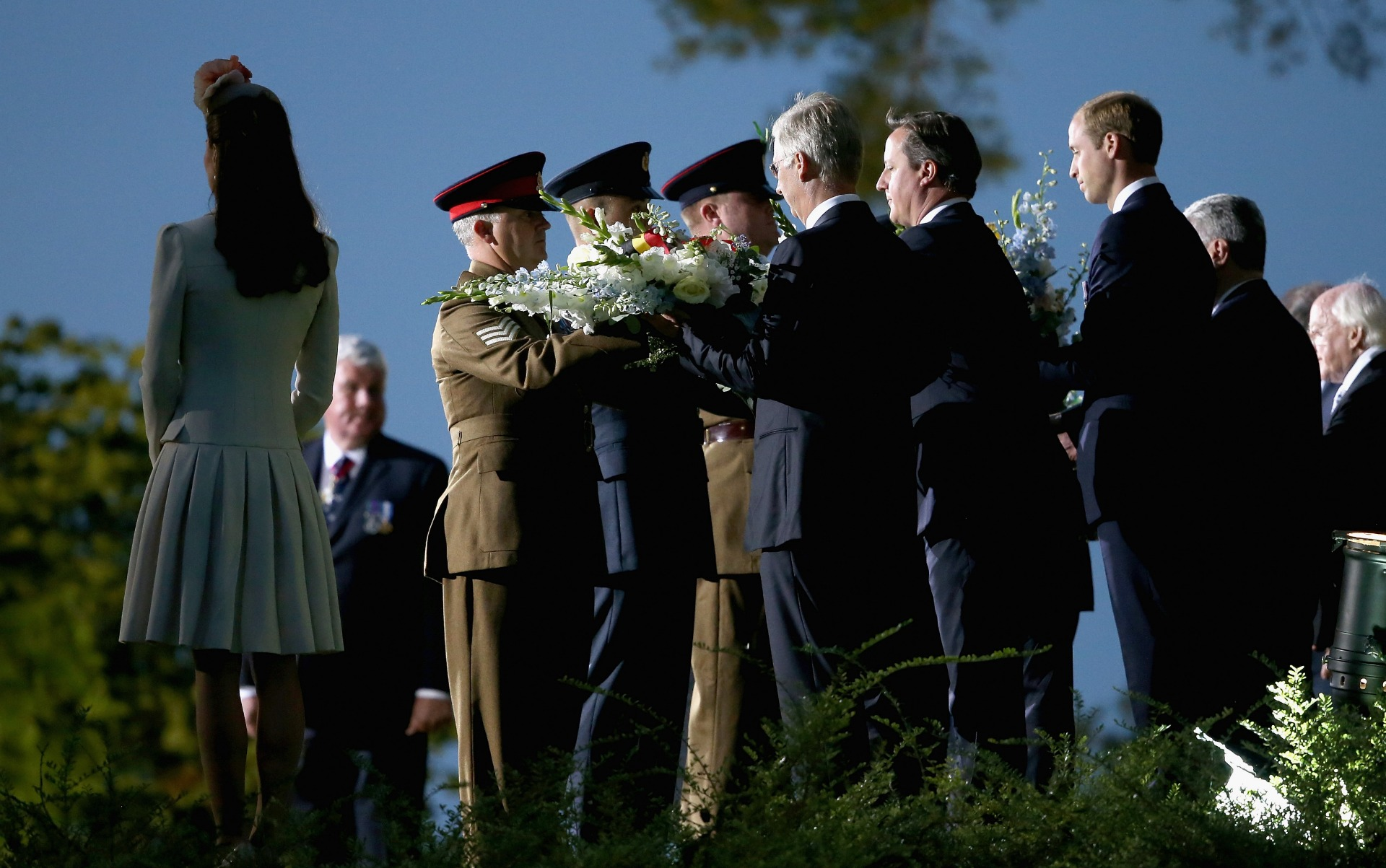 World leaders commemorate 100 years since the start of WWI