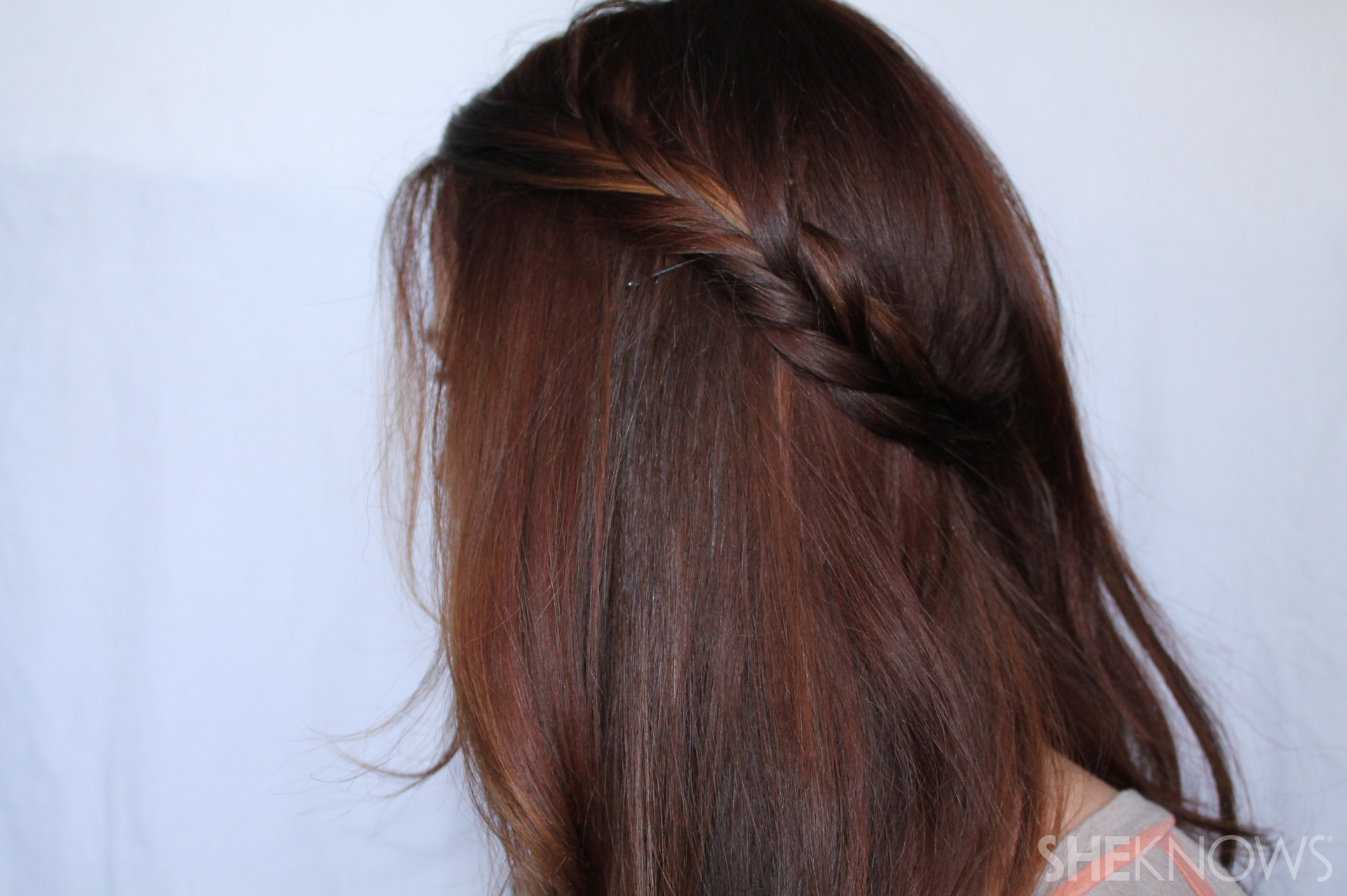 Crown braid | Sheknows.com - step 03