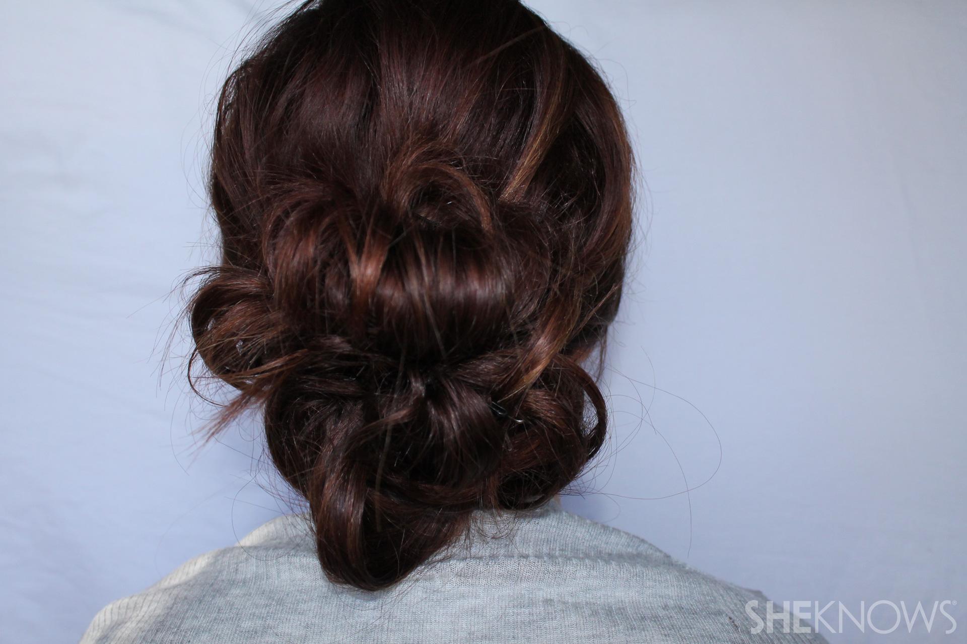 Thin hair tutorial | Sheknows.com - final hairstyle