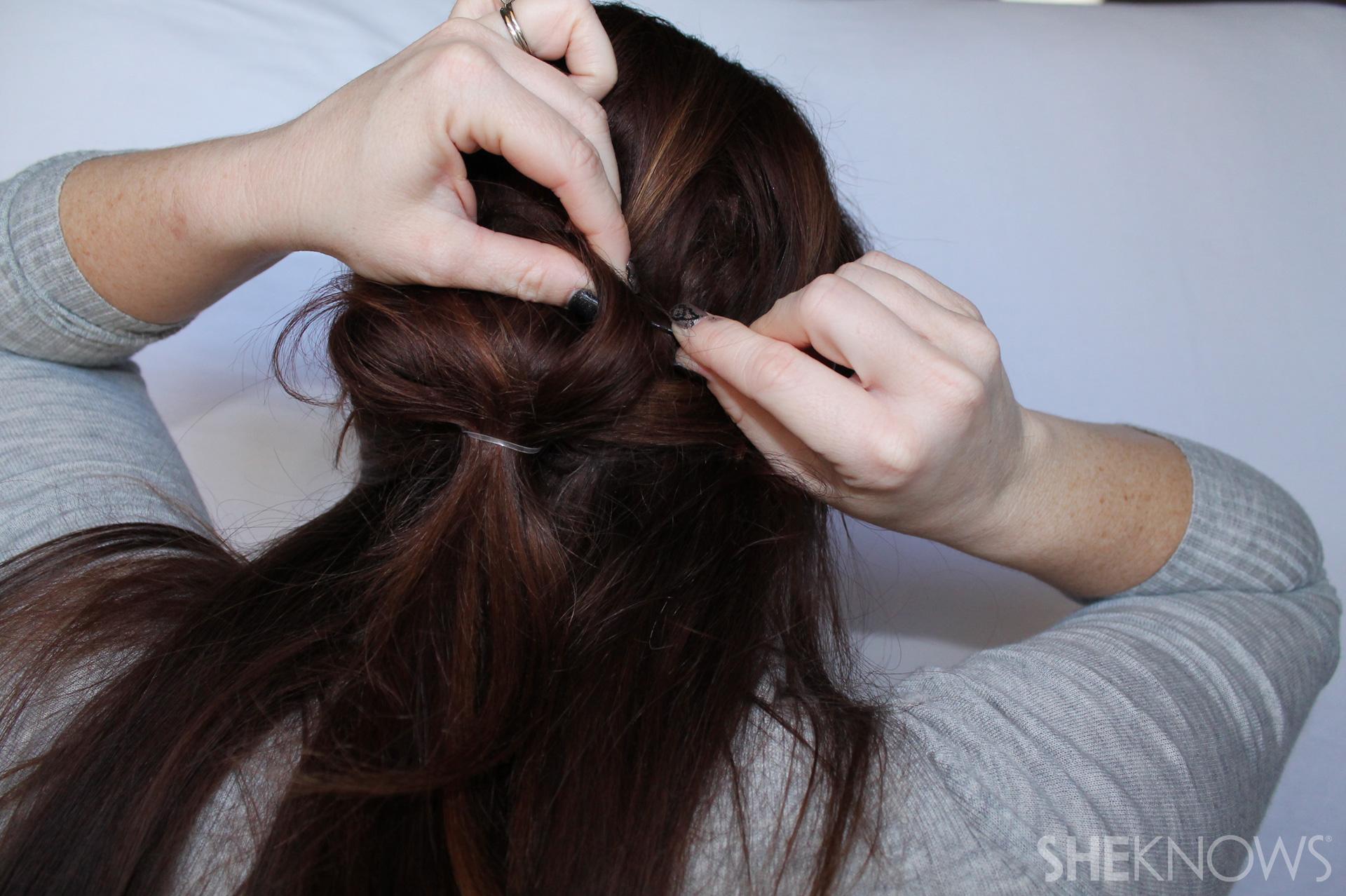 Thin hair tutorial | Sheknows.com - step 10