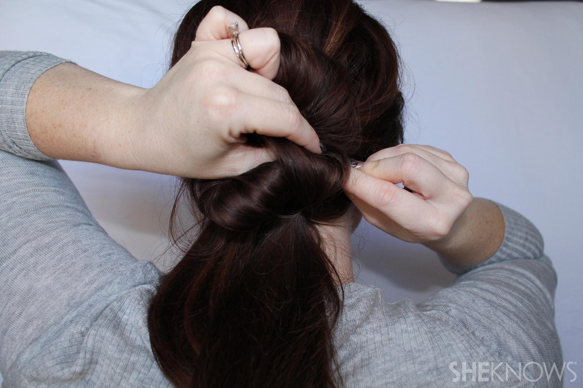 Thin hair tutorial | Sheknows.com - step 12