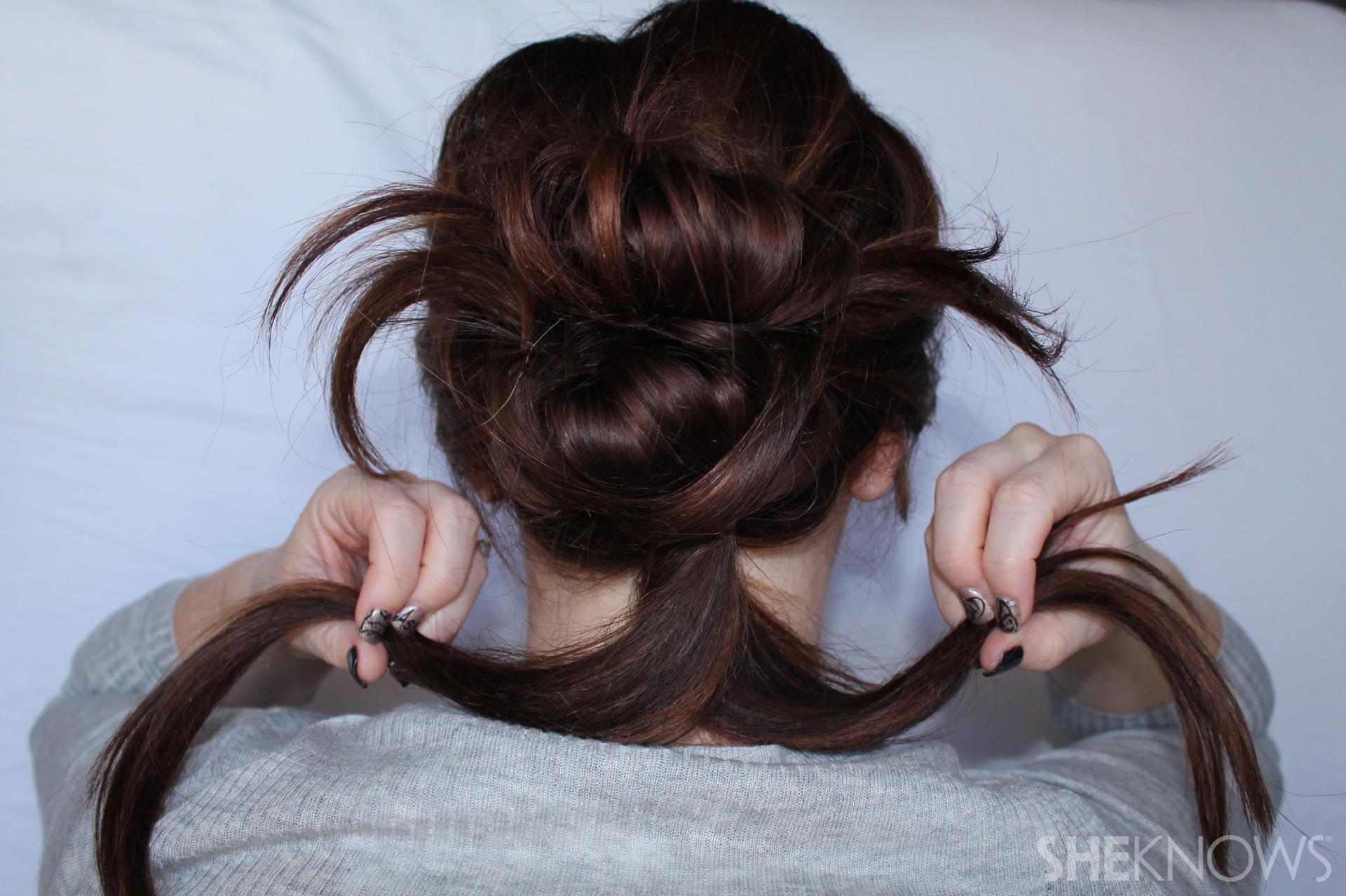 Thin hair tutorial | Sheknows.com - step 15
