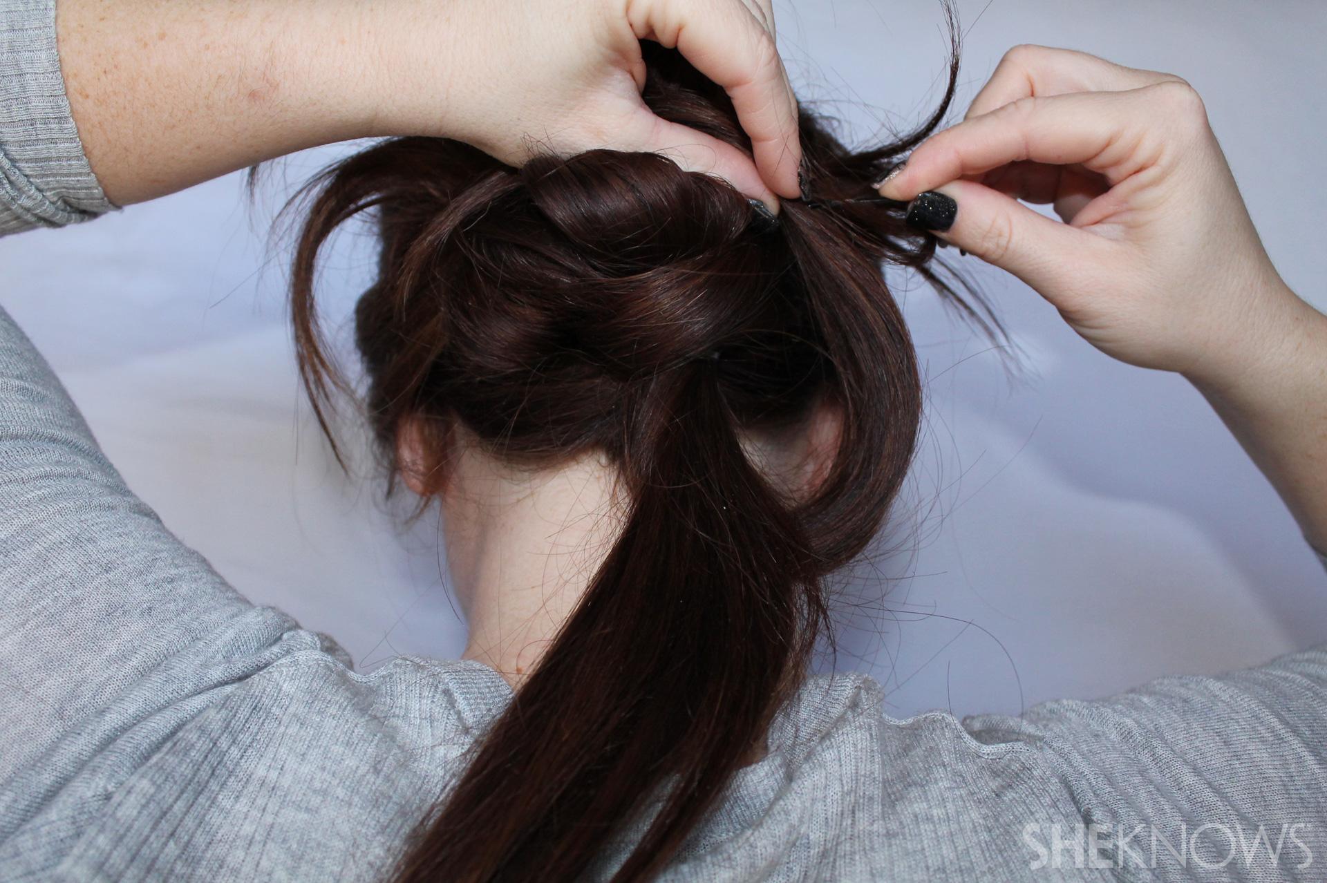 Thin hair tutorial | Sheknows.com - step 16