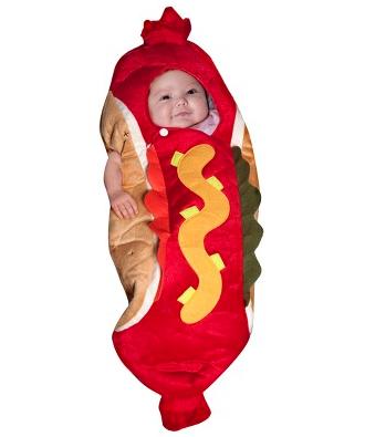 Hot dog costume | PregnancyAndBaby.com