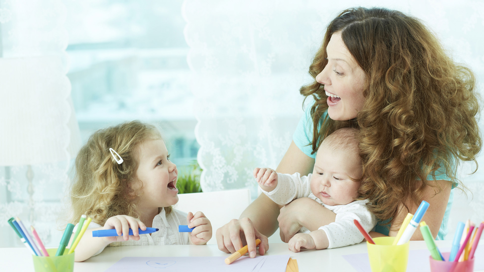 Babysitter with children | PregnancyAndBaby.com