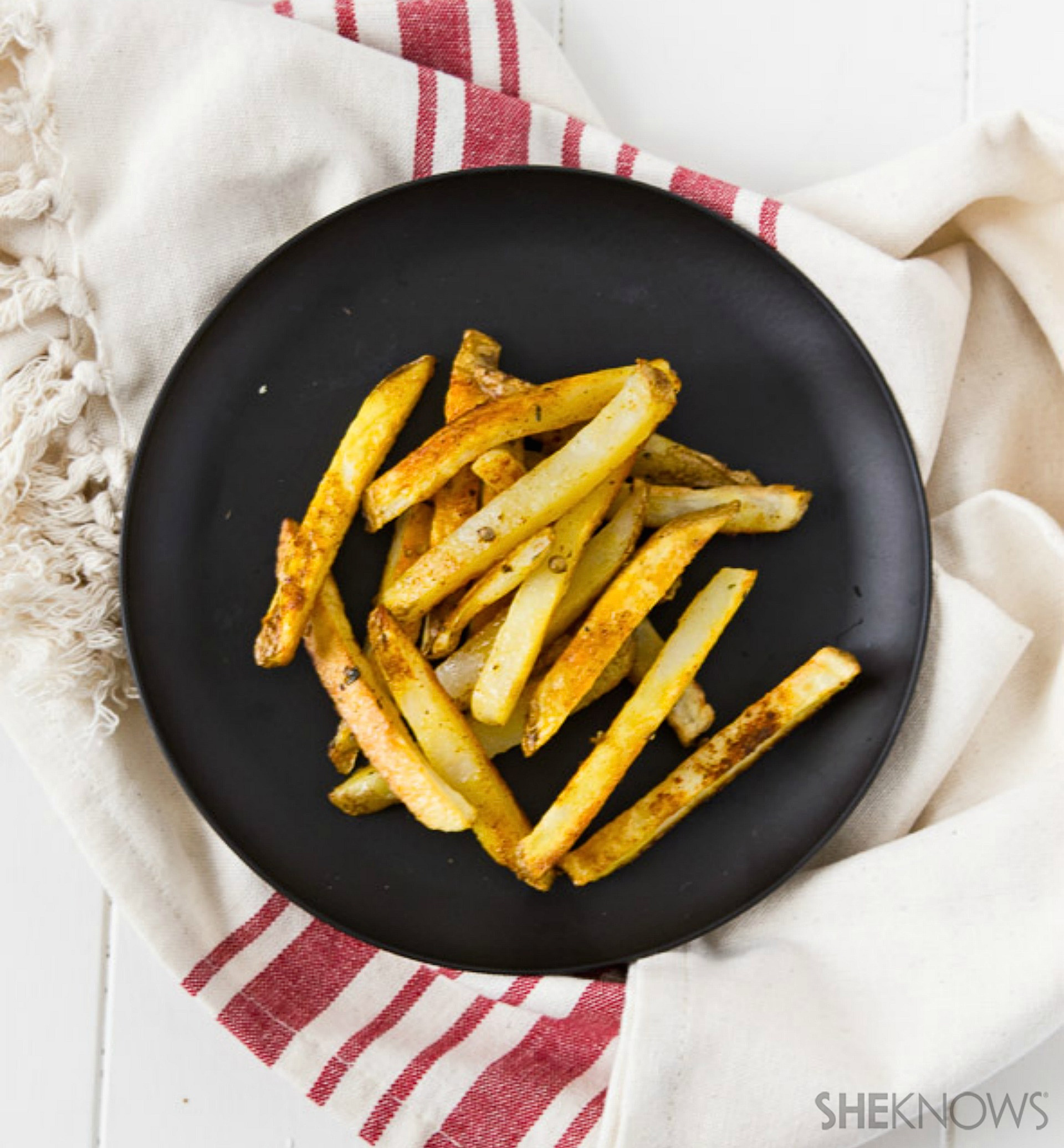 ... , Indian and Mexican spices add a dash of flavor to french fries
