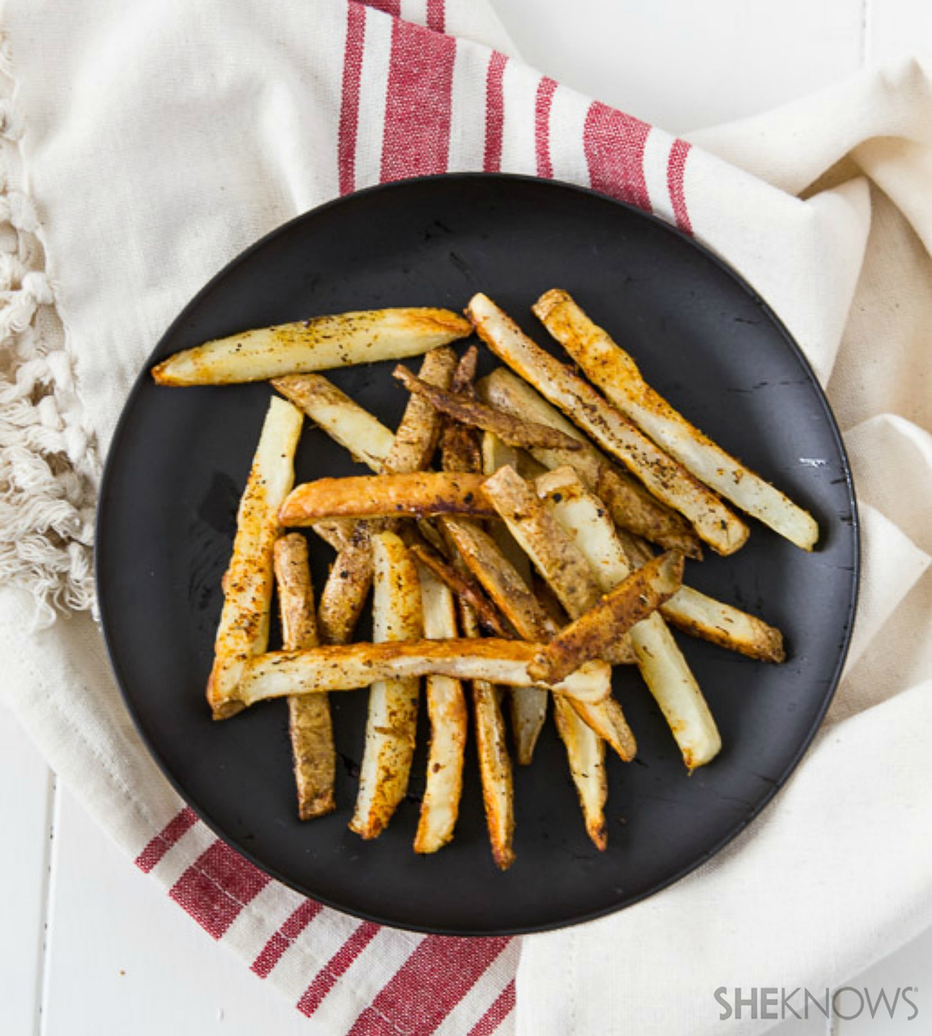 ... french crispy oven baked bojangles baked french fries with indian