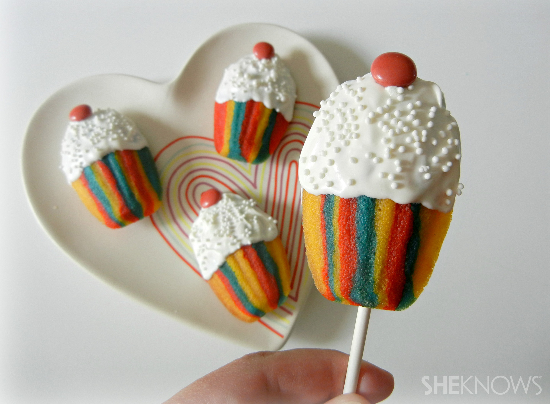 Madeleine Cookie Cupcake Pops Will Make Your Life More