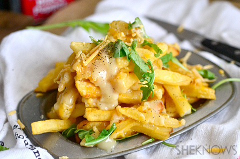 Poutine loaded french fries