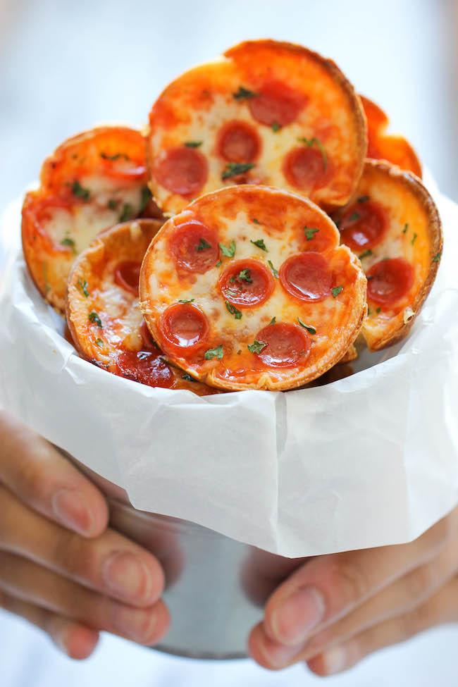 Как сделать пиццу мини