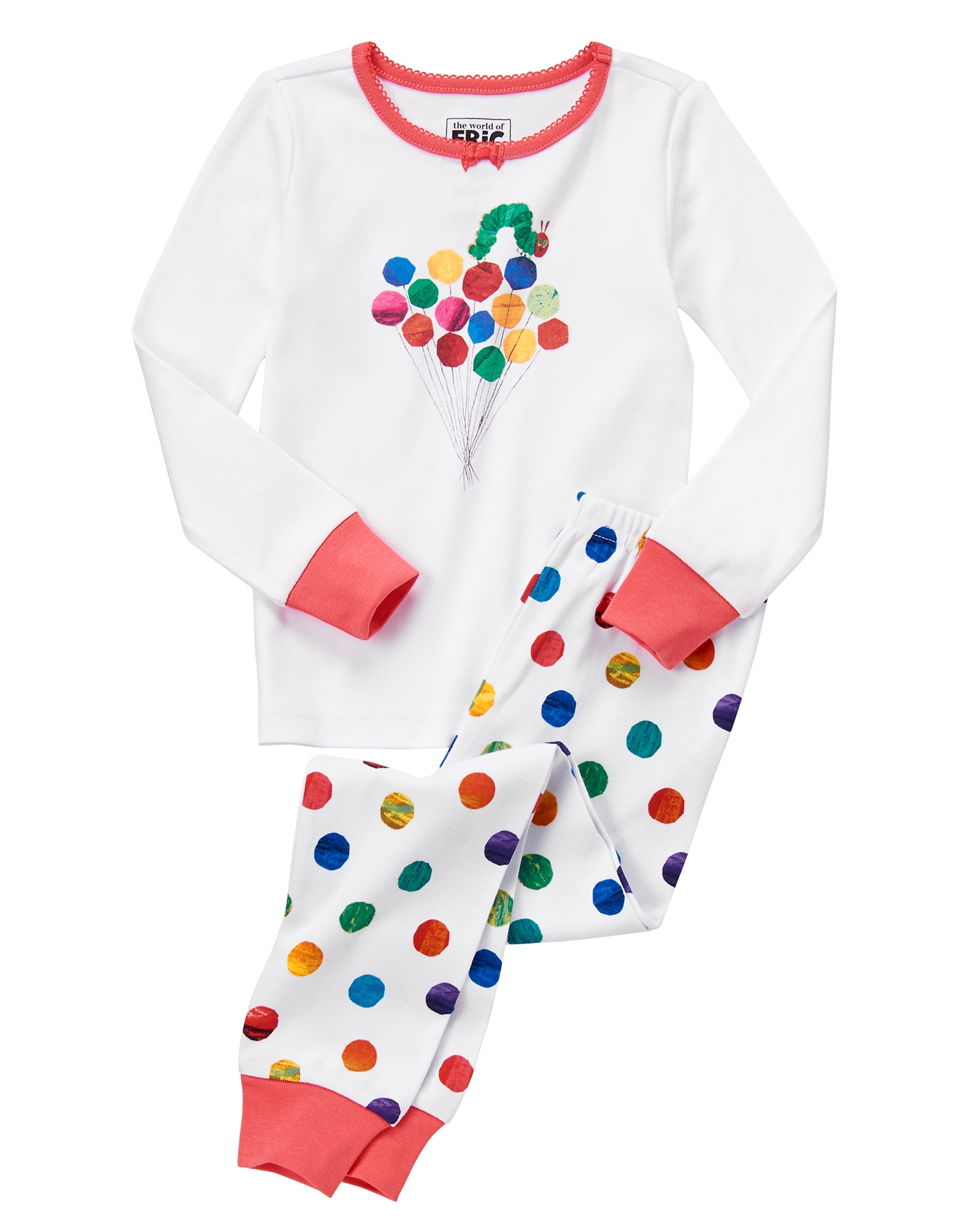 The Very Hungry Caterpillar balloon jammies