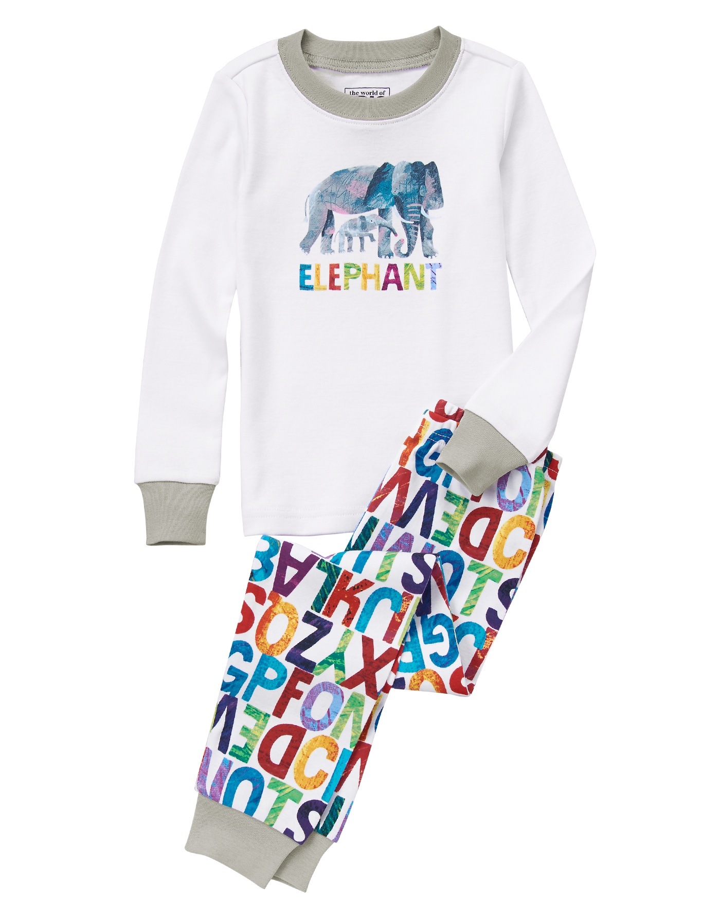 The World of Eric Carle Elephant jammies