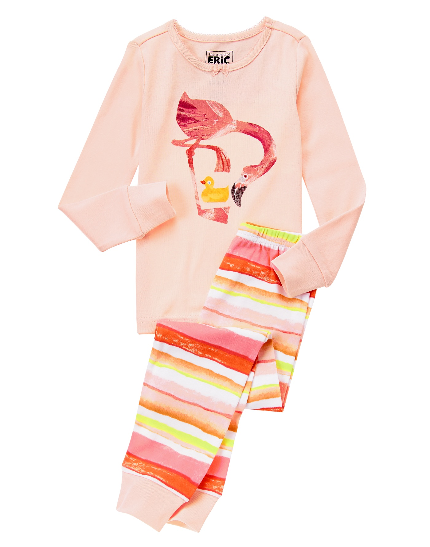 The World of Eric Carle Flamingo jammies