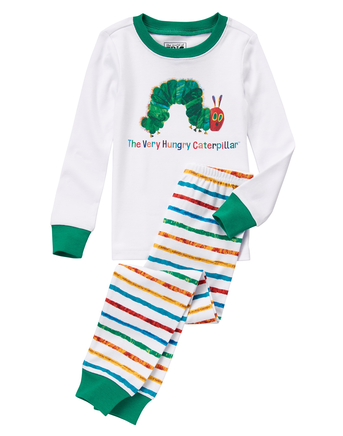 The Very Hungry Caterpillar jammies