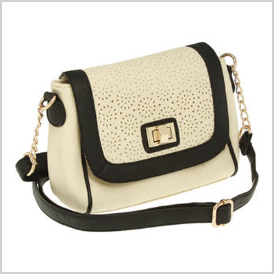 Under One Sky Two Tone Floral Cutout Mini Crossbody (sears.com, $28)