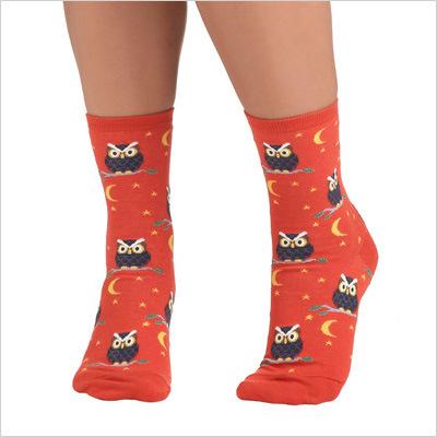 Owl-Inclusive Socks