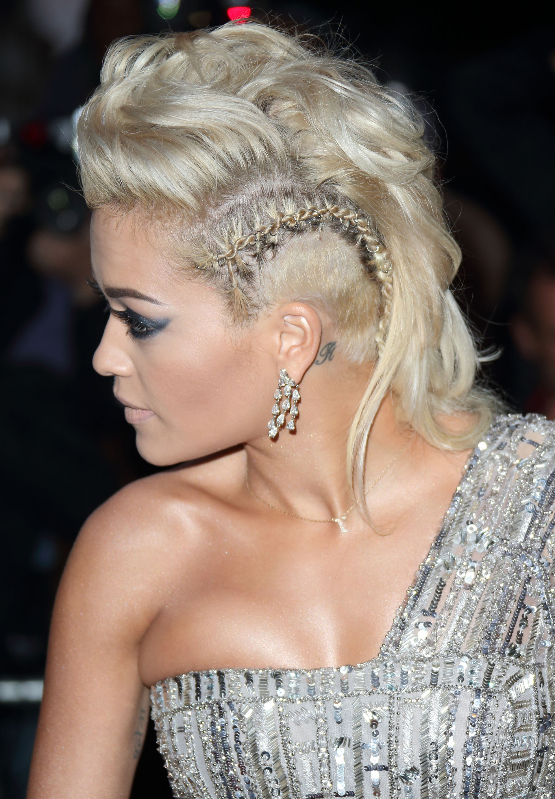 The month in beauty:15 must-see looks: Best funky hairstyle 2