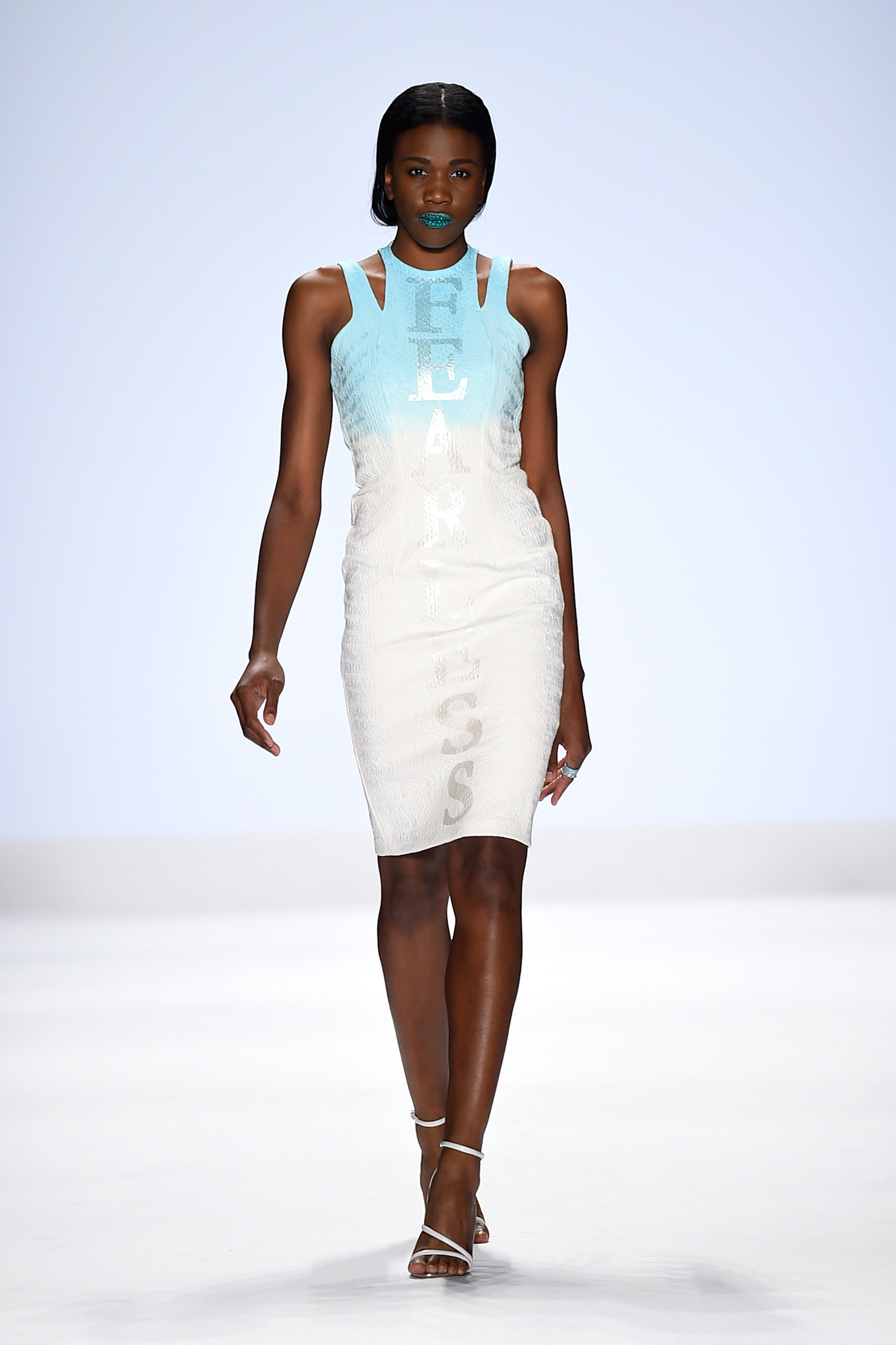 Project Runway's Fashion Week show 4