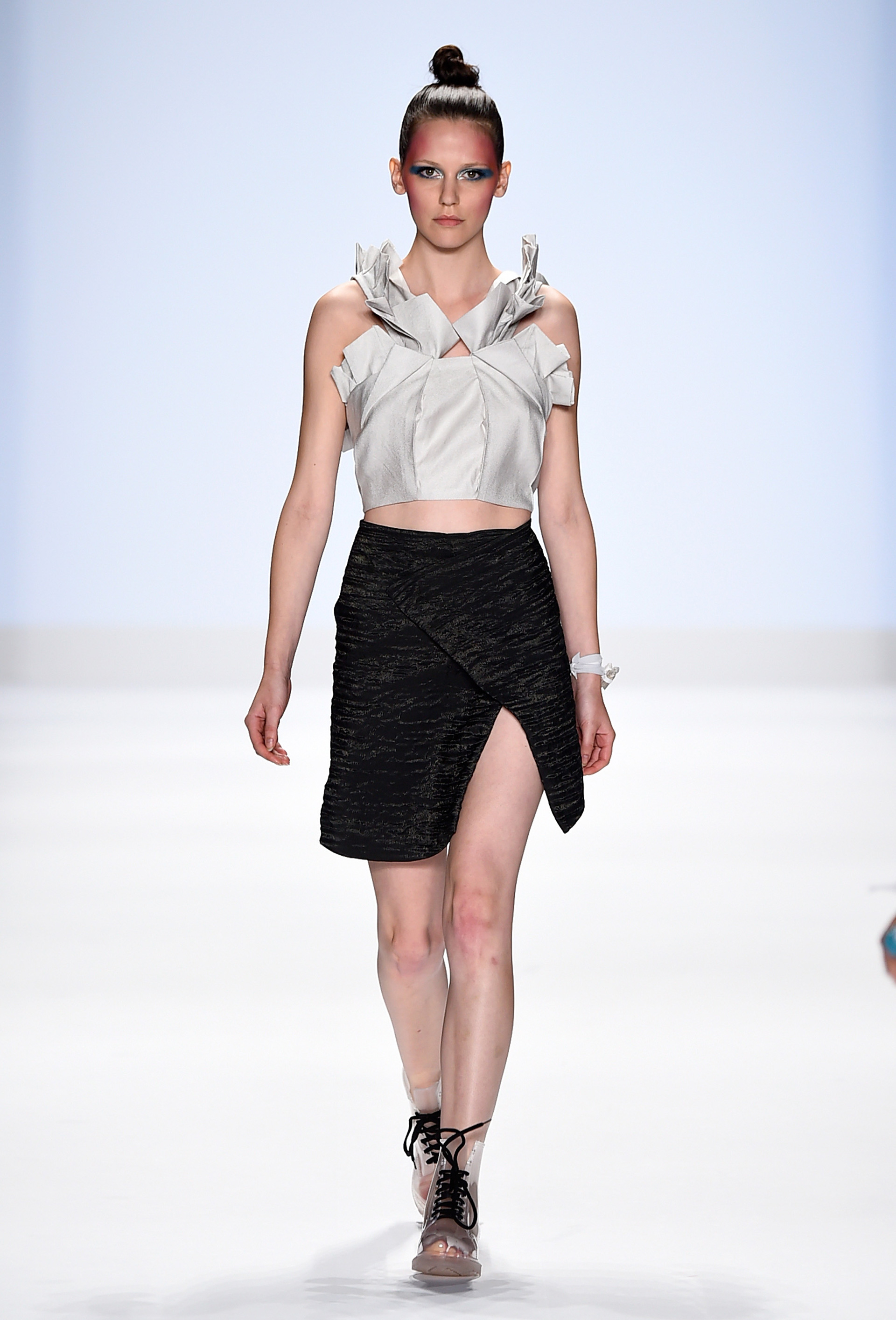 Project Runway's Fashion Week show 5