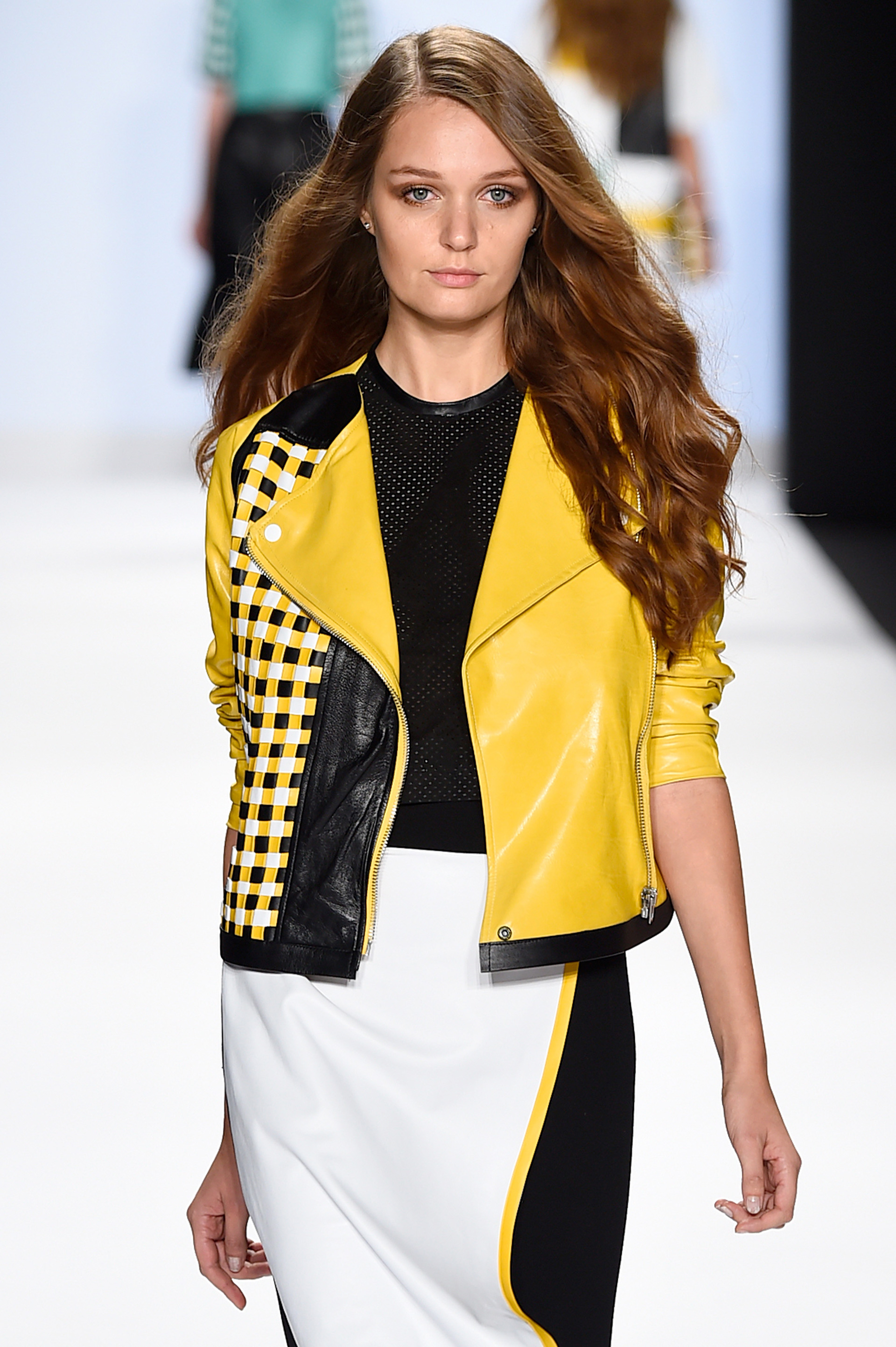Project Runway's Fashion Week show 9