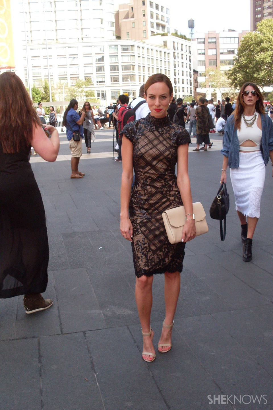 Fashion Week street style looks: Sydne Summer