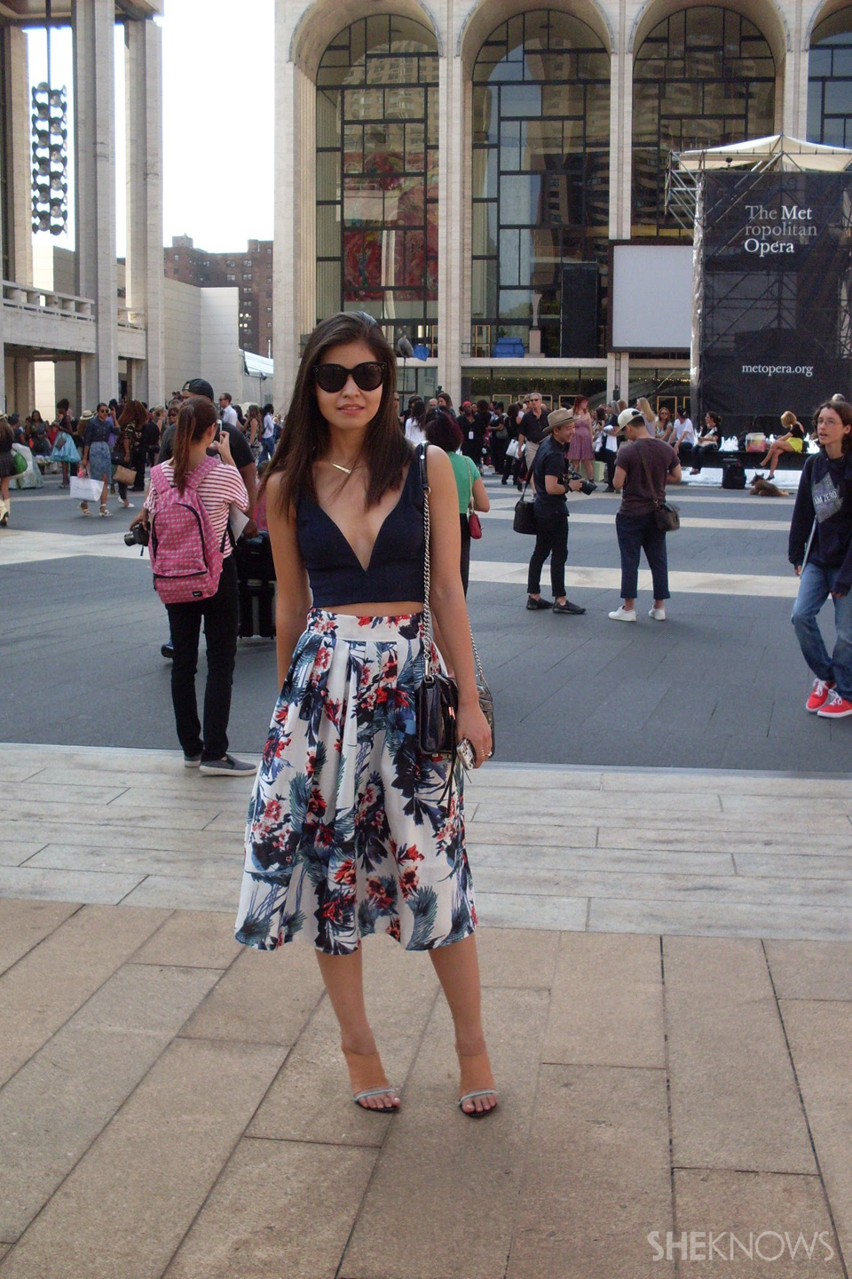 Fashion Week street style looks: Adriana Gastelum